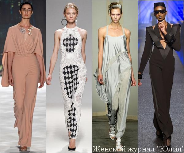 Модные женские комбинезоны весна-лето 2022: фасоны + фото -