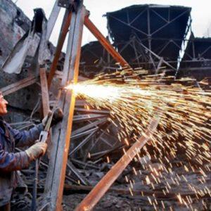 Порядок проведения работ по демонтажу металлоконструкций