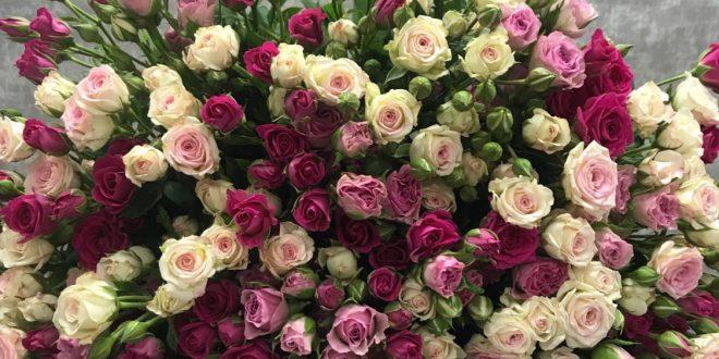 Кустовые розы — нежность и легкость в одном букете 2