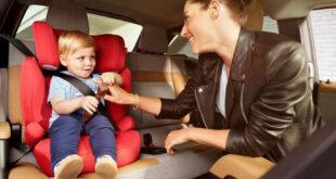 Правила крепления детских кресел в автомобиле -